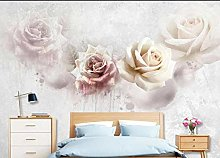 3D Wallpaper Vintage Rose for Walls Murals