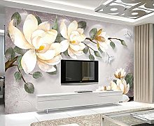3D Wallpapers for Walls Hand Painted Floral