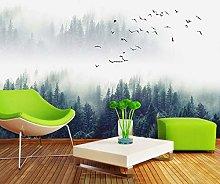 3D Wallpapers Forest Simple Landscape Wallpaper