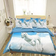 3D White Horse Clouds 627 Bedding Pillowcases