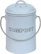 3L 3 Litre Vintage Style Galvanised Compost Food