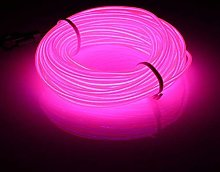 3m EL Wires Neon Light Tube Illumination Battery