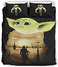 3Pc Bed Sheet Set Yoda Baby Bed Accessory Premium