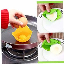 3PC Kitchen Silicone Egg Maker Cook Poached Baking