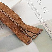 3pcs 5# 15/20/25 cm Resin Zipper Close end auto