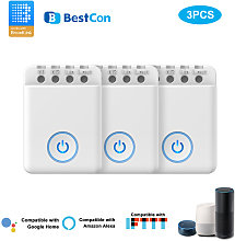3PCS Bestcon MCB1 DIY Wifi Switch Wireless Smart