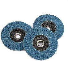 3pcs Grinding Wheels Flap Discs 75mm 3 Inch