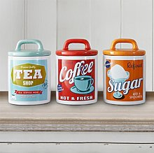 3Pcs Retro Multicolour Home Office Tea Coffee