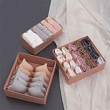 3PCS/Set Non-woven fabric underwear organizer Bras
