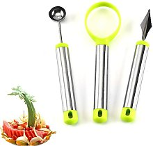 3PCS Watermelon Slicer, Fruit Tool Set, Remove