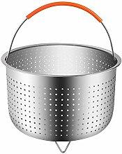 3Qt Stainless Steel Steamer Basket Pot Accessories