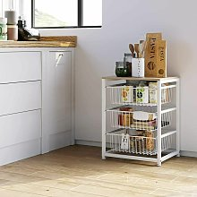 3Tier Microwave Oven Stand Rack Holder Kitchen