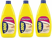 3X 1001 Carpet and Upholstery Shampoo Cleaner 450ml