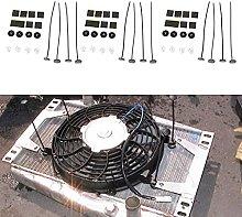 3X Electric Radiator Fan Ties Straps Mounting Kit
