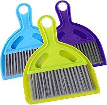 3x Hand Brush Dustpan and Brush Set Brush Dustpan