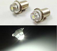 3x P13.5S 3V 4.5V 6V 0.5W 0.75W 6000k White LED