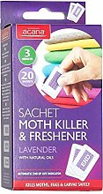 3x Pack of 20 Acana Moth Killer & Freshener