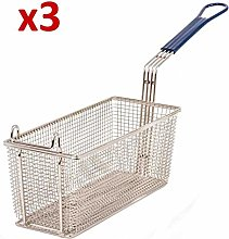 3X Replacements for Lincat BA83 Fryer Baskets to
