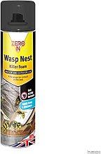 3x Zero In Wasp Nest Killer Foam - 300ml