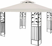 3x3m Garden Gazebo Top Cover Roof Replacement Tent