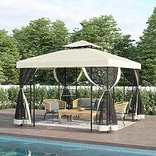 3x3M Gazebo Marquee Canopy Garden Beach Patio