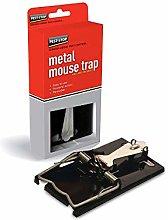 3xEasy Setting Metal Mouse Trap