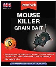 3xMouse Killer Grain Bait, Black, 3.5 x 10.5 x