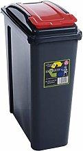 3XRecycling Bin Slim Kitchen Trash Can Rubbish