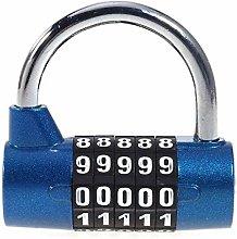 4/5-Dial Combination Padlock, 4/5 Digital Number