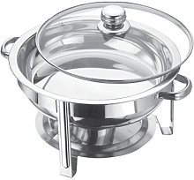 4.5 Litre Stainless Steel Round Chafing Dish Set