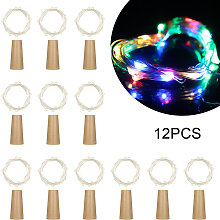 4.5V 0.9W 1.5Meters 15 LED Copper Wire Fairy