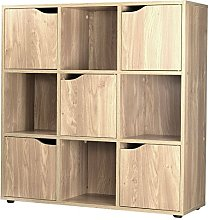 4 6 9 Cube Wooden Storage Unit Modern Stylish