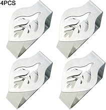 4/6PCS Tablecloth Clips, Stainless Steel