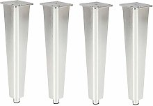 4 Adjustable Aluminum Alloy Furniture Legs,Metal