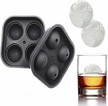 4-cavity DIY ice maker, 3D flexible silicone
