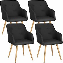 4 Chairs Tanja - desk chair, lounge chair, reading