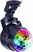 4 Colours Audio Party Ball Light, USB LED Disco