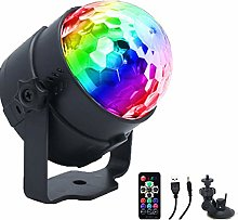 4 Colours Disco Lights Disco Ball, USB LED Stage