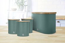 4 Container Food Storage Set Swan