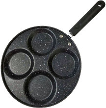 4-Cup Egg Frying Pan 16in Egg Cooker Pan Round and