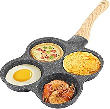 4-Cup Egg Frying Pan, Multifunction Breakfast Pan