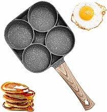 4-Cup Egg Frying Pan, Non-Stick Aluminum Alloy