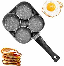 4 Cup Egg Skillet, Nonstick Aluminum Alloy Pan for