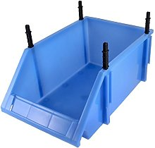 4 Detachable Foot Stands Open Front Stacking Bin