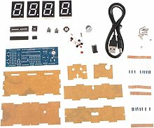 4-Digit DIY LED Electronic Clock Kit