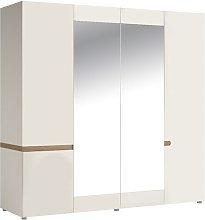 4 Door Wardrobe Brayden Studio