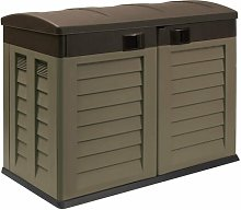 4 Ft. W x 3 Ft. D Dome Plastic Tool Shed WFX