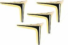 4 Furniture Legs Metal Furniture Feet Replacement