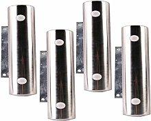 4 Furniture Legs Stainless Steel Table Metal Feet