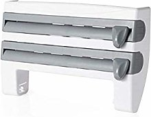 4 i n 1 Kitchen Roll Dispenser, Wall Mounted